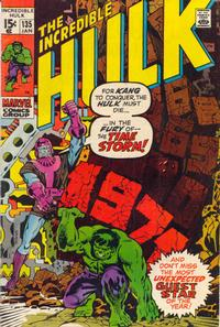 Cover Thumbnail for The Incredible Hulk (Marvel, 1968 series) #135 [Regular Edition]