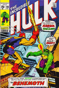 Cover Thumbnail for The Incredible Hulk (Marvel, 1968 series) #136