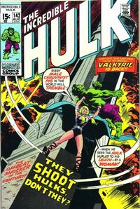 Cover Thumbnail for The Incredible Hulk (Marvel, 1968 series) #142