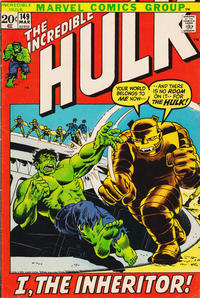 Cover Thumbnail for The Incredible Hulk (Marvel, 1968 series) #149 [Regular Edition]