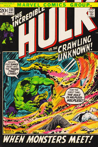 Cover Thumbnail for The Incredible Hulk (Marvel, 1968 series) #151 [Regular Edition]