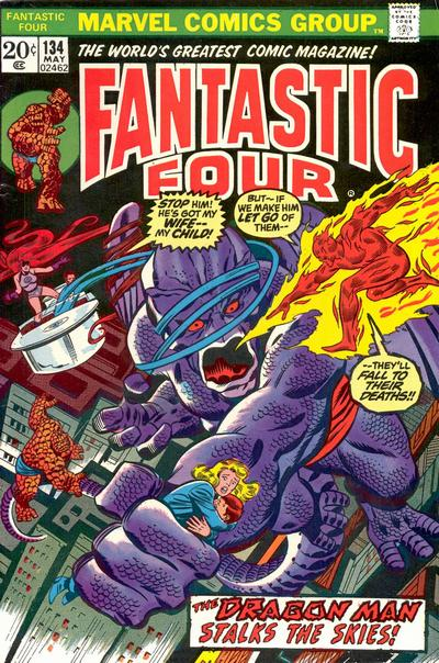 Cover for Fantastic Four (Marvel, 1961 series) #134 [Regular Edition]