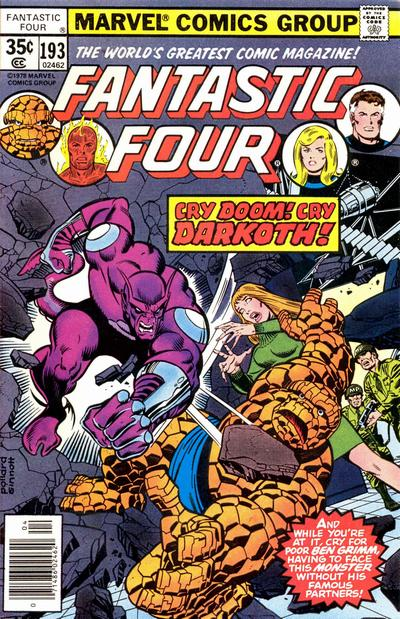 Cover for Fantastic Four (Marvel, 1961 series) #193 [Regular Edition]
