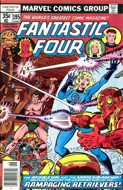 Cover for Fantastic Four (Marvel, 1961 series) #195 [Regular Edition]