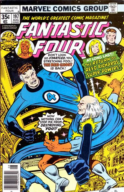 Cover for Fantastic Four (Marvel, 1961 series) #197 [Regular Edition]
