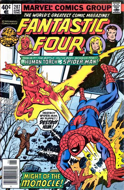 Cover for Fantastic Four (Marvel, 1961 series) #207 [Direct Edition]