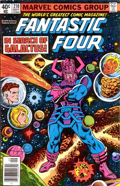 Cover for Fantastic Four (Marvel, 1961 series) #210 [Direct]