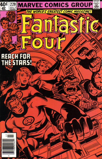 Cover for Fantastic Four (Marvel, 1961 series) #220 [Newsstand Edition]