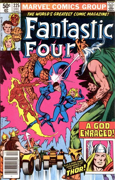 Cover for Fantastic Four (Marvel, 1961 series) #225 [Direct]