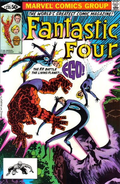 Cover for Fantastic Four (Marvel, 1961 series) #235 [Direct Edition]