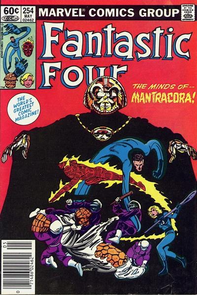 Cover for Fantastic Four (Marvel, 1961 series) #254 [Direct]