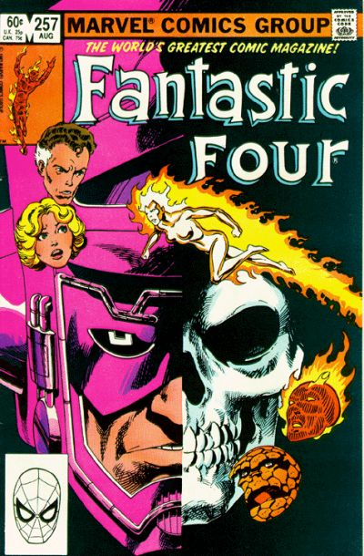 Cover for Fantastic Four (Marvel, 1961 series) #257 [Direct Edition]