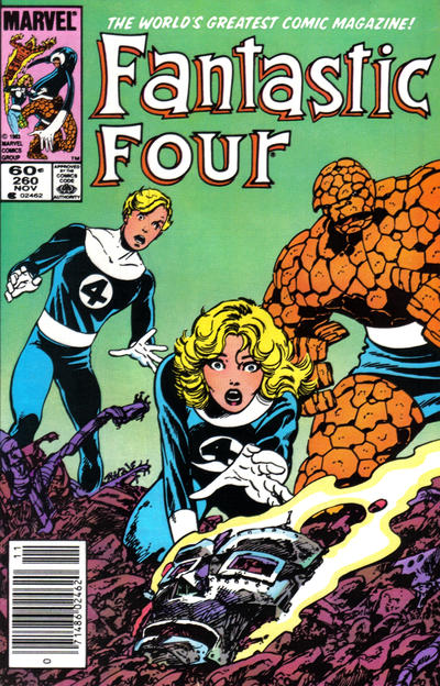 Cover for Fantastic Four (Marvel, 1961 series) #260 [Direct]