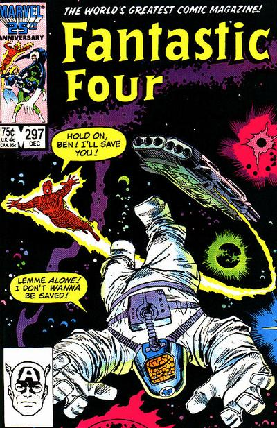 Cover for Fantastic Four (Marvel, 1961 series) #297 [Direct Edition]