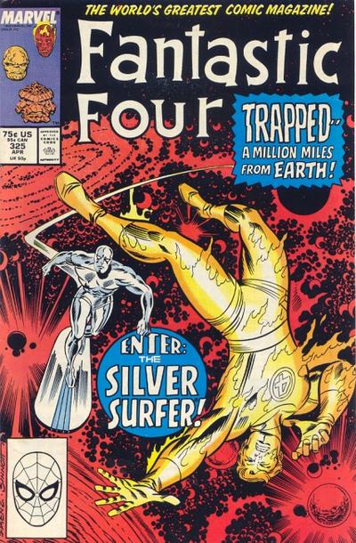 Cover for Fantastic Four (Marvel, 1961 series) #325 [Direct Edition]