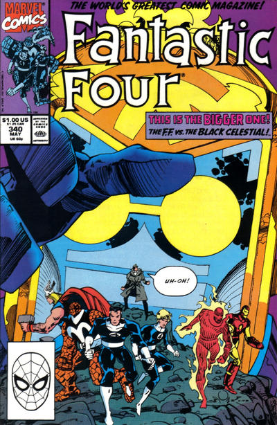 Cover for Fantastic Four (Marvel, 1961 series) #340 [Direct]