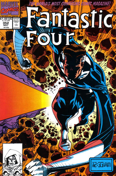 Cover for Fantastic Four (Marvel, 1961 series) #352 [Direct]