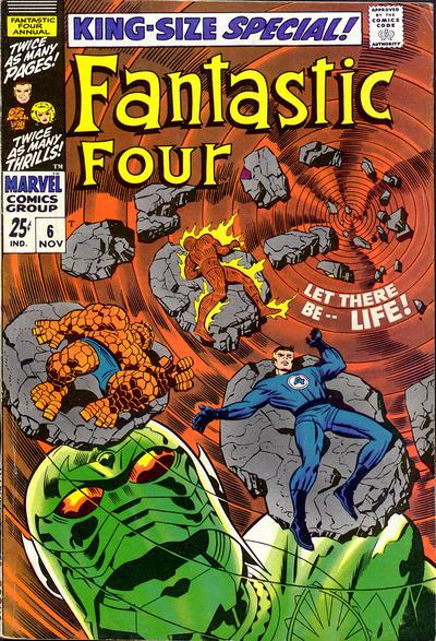 Cover for Fantastic Four Annual (Marvel, 1963 series) #6