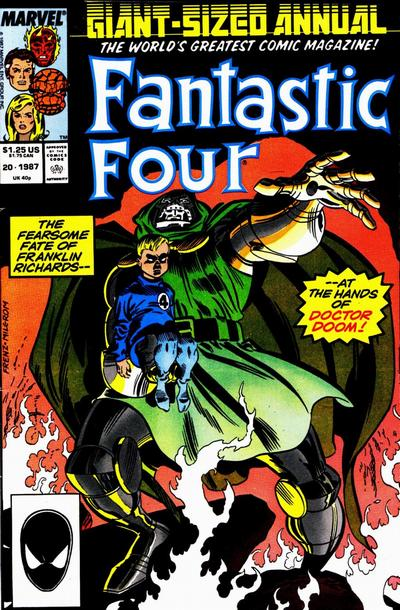 Cover for Fantastic Four Annual (Marvel, 1963 series) #20 [Newsstand Edition]