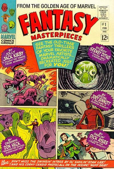Cover for Fantasy Masterpieces (Marvel, 1966 series) #1 [British]