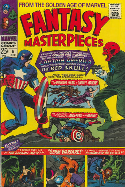 Cover for Fantasy Masterpieces (Marvel, 1966 series) #6