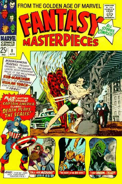 Cover for Fantasy Masterpieces (Marvel, 1966 series) #8