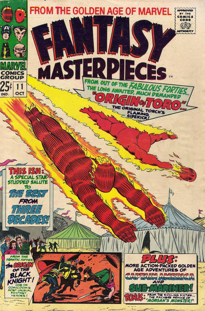 Cover for Fantasy Masterpieces (Marvel, 1966 series) #11