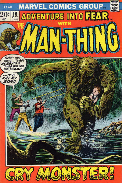 Cover for Fear (Marvel, 1970 series) #10