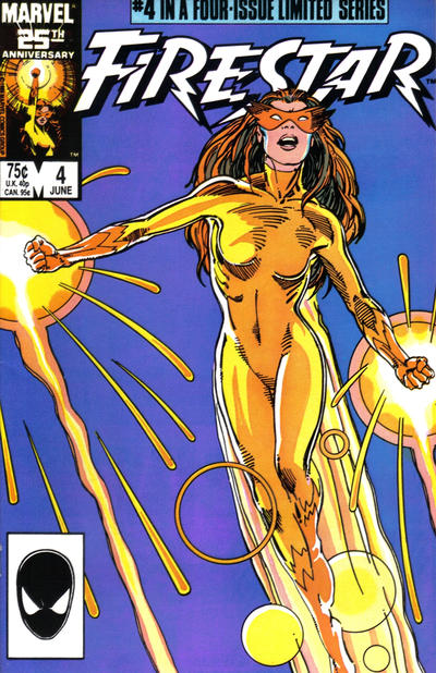 Cover for Firestar (Marvel, 1986 series) #4 [Direct Edition]