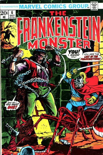 Cover for Frankenstein (Marvel, 1973 series) #6