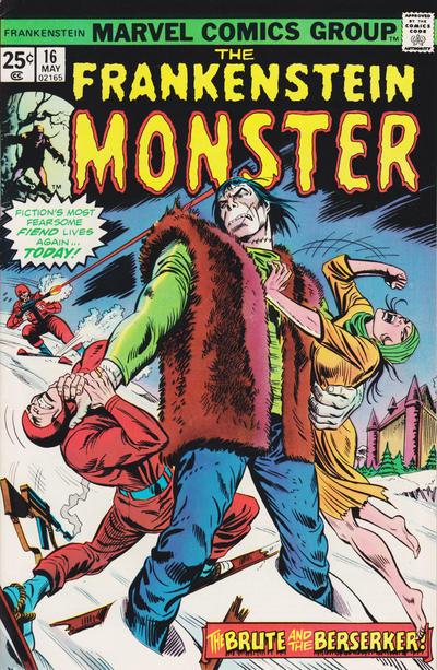 Cover for Frankenstein (Marvel, 1973 series) #16 [Regular Edition]