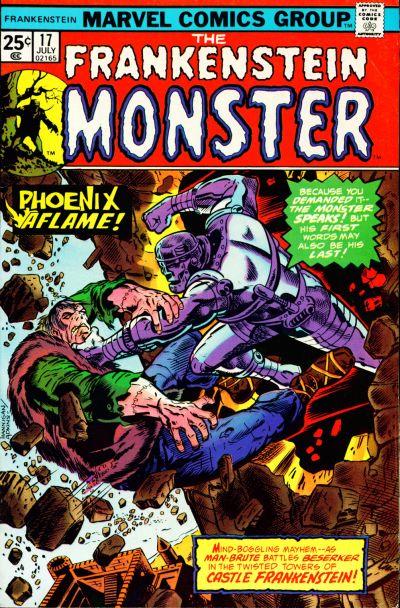 Cover for Frankenstein (Marvel, 1973 series) #17 [Regular Edition]