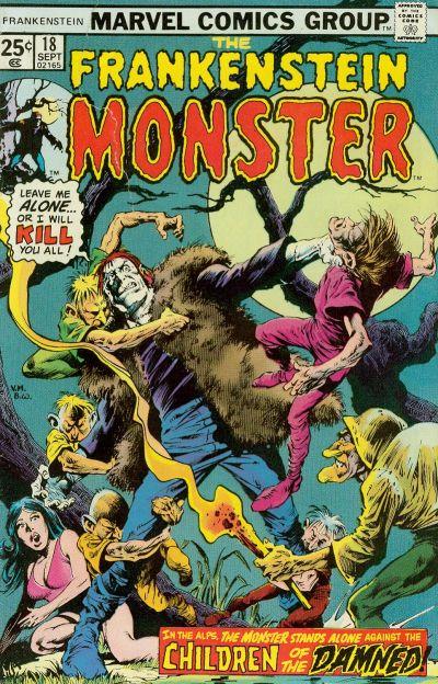 Cover for Frankenstein (Marvel, 1973 series) #18
