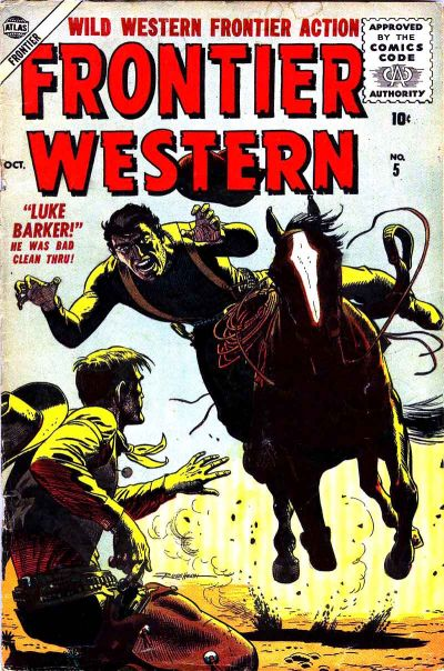Cover for Frontier Western (Marvel, 1956 series) #5