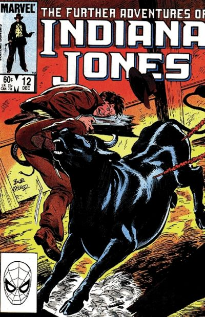 Cover for The Further Adventures of Indiana Jones (Marvel, 1983 series) #12 [Direct]