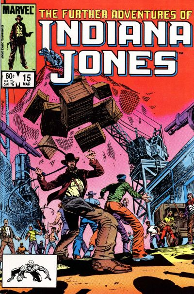 Cover for The Further Adventures of Indiana Jones (Marvel, 1983 series) #15 [Direct]