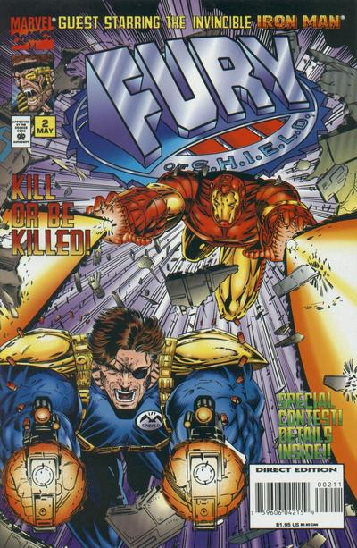 Cover for Fury of S.H.I.E.L.D. (Marvel, 1995 series) #2