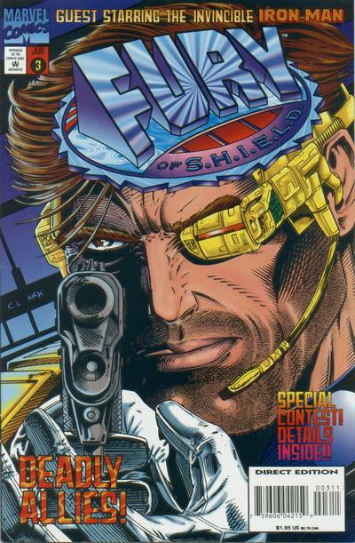 Cover for Fury of S.H.I.E.L.D. (Marvel, 1995 series) #3