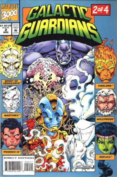 Cover for Galactic Guardians (Marvel, 1994 series) #2