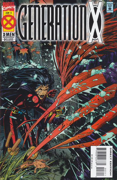 Cover for Generation X (Marvel, 1994 series) #3 [Regular Direct Edition]