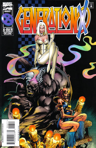 Cover for Generation X (Marvel, 1994 series) #6 [Direct Edition]