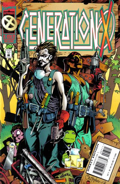 Cover for Generation X (Marvel, 1994 series) #7 [Direct Edition]