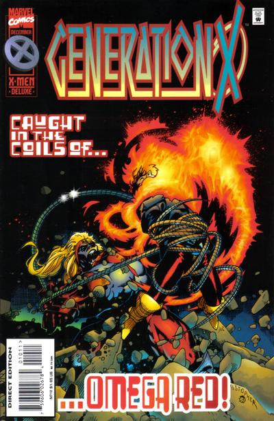 Cover for Generation X (Marvel, 1994 series) #10 [Direct Edition]