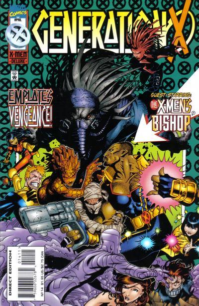 Cover for Generation X (Marvel, 1994 series) #14 [Direct Edition]