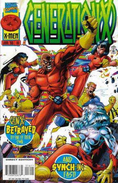 Cover for Generation X (Marvel, 1994 series) #16 [Direct Edition]
