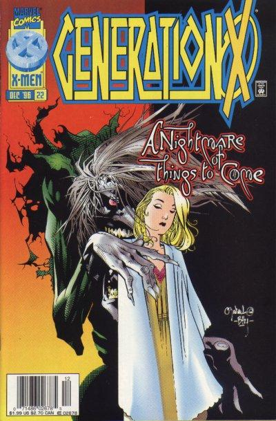 Cover for Generation X (Marvel, 1994 series) #22 [Newsstand Edition]