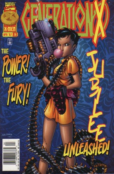 Cover for Generation X (Marvel, 1994 series) #26 [Direct Edition]