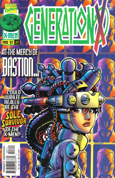 Cover for Generation X (Marvel, 1994 series) #27 [Direct Edition]