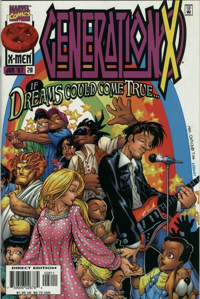 Cover for Generation X (Marvel, 1994 series) #28 [Direct Edition]