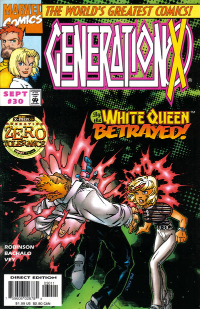 Cover for Generation X (Marvel, 1994 series) #30 [Direct Edition]